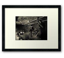 Smoky Gig Framed Print