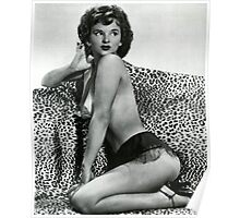 Lili Lamont - Sexy Pin Up model  Poster