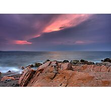Cairn Cape Breton Highlands National Park Photographic Print