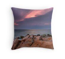 Cairn Cape Breton Highlands National Park Throw Pillow