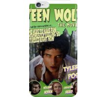 Teen Wolf Old Comic iPhone Case/Skin