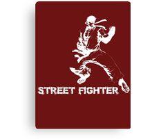 street fighter Canvas Print
