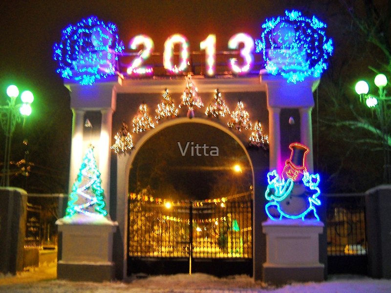 Happy New Year to All RB Friends!!! by Vitta