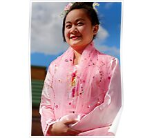 Burmese Dancer Poster