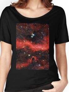 Pink Galaxy 2.0 Women's Relaxed Fit T-Shirt