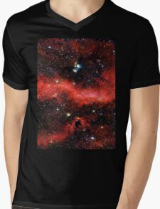 Pink Galaxy 2.0 Mens V-Neck T-Shirt