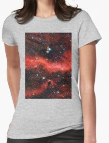 Pink Galaxy 2.0 Womens Fitted T-Shirt