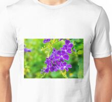 Purple over Green Unisex T-Shirt