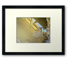 aaah, there it is! Framed Print
