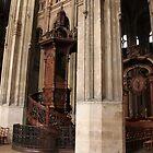 Saint-Eustache pulpit by Elena Skvortsova