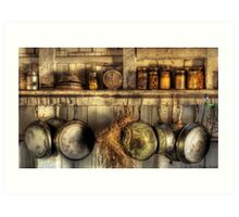 The old country kitchen Art Print