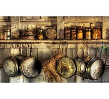 The old country kitchen Photographic Print