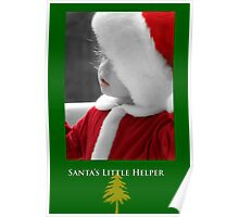 Santas Little Helper Poster
