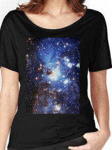Blue Galaxy 3.0 Women's Relaxed Fit T-Shirt
