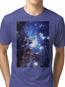 Blue Galaxy 3.0 Tri-blend T-Shirt