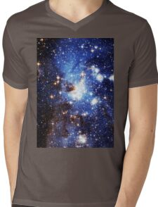 Blue Galaxy 3.0 Mens V-Neck T-Shirt