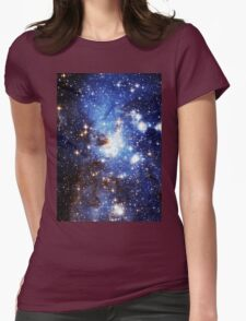 Blue Galaxy 3.0 Womens Fitted T-Shirt