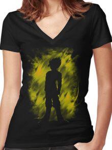 Sayan Aura Women's Fitted V-Neck T-Shirt