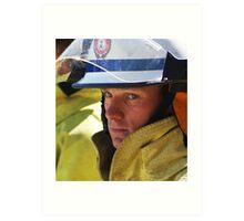 Fire & Rescue Art Print