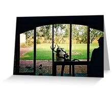 McLaren Vale Winery, Sth Australia Greeting Card