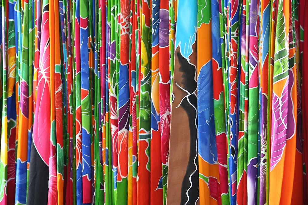 Hawaiian Fabrics by noffi
