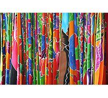 Hawaiian Fabrics Photographic Print