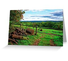 Beautiful English Countryside Greeting Card