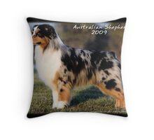 Australian Shepherd Cover Throw Pillow