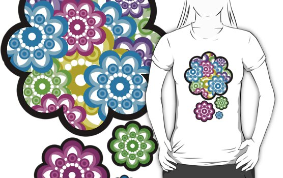 flower tee by teegs