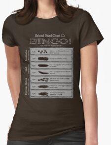 Bristol Stool Chart BINGO! Womens Fitted T-Shirt