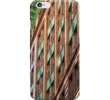 Green Metal on Old Stone iPhone Case/Skin