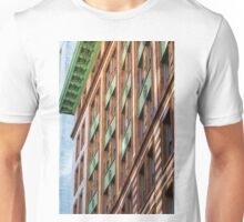 Green Metal on Old Stone Unisex T-Shirt