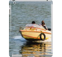 Speed Boat iPad Case/Skin