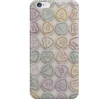 Love Hearts White iPhone Case/Skin