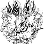 The Majestic Jackalope by bonnfire
