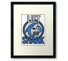 Lift Shark Framed Print