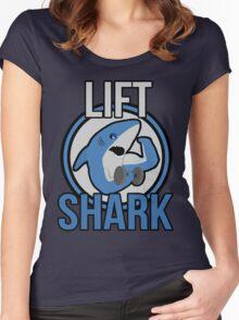 Lift Shark Women's Fitted Scoop T-Shirt