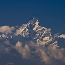 Machapuchare (Fishtail) by Gethin
