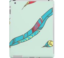 Vector Seamless Pattern of Plumage iPad Case/Skin