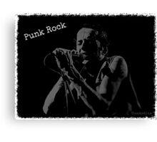 Joe Strummer / Punk Rock Canvas Print
