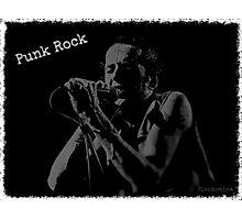 Joe Strummer / Punk Rock Photographic Print