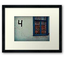 Four Rooms Framed Print