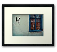 Four Rooms Framed Print