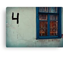 Four Rooms Canvas Print