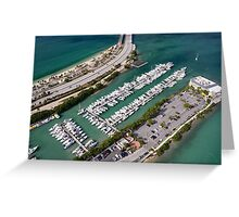 Miami: Hobie Island Beach Park Greeting Card