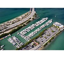 Miami: Hobie Island Beach Park Photographic Print