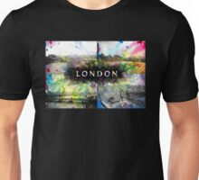London Skyline View Collage  Unisex T-Shirt