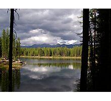 Montana Storm Clouds Photographic Print