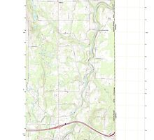 Maine USGS Historical Map Houlton North 20110907 TM by wetdryvac