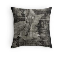 mists and the past haunting the young Throw Pillow